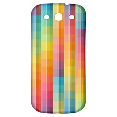 Background Colorful Abstract Samsung Galaxy S3 S Iii Classic Hardshell Back Case