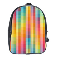 Background Colorful Abstract School Bags (XL)