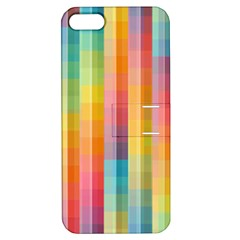 Background Colorful Abstract Apple Iphone 5 Hardshell Case With Stand