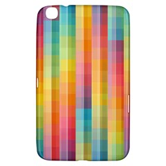 Background Colorful Abstract Samsung Galaxy Tab 3 (8 ) T3100 Hardshell Case