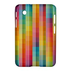 Background Colorful Abstract Samsung Galaxy Tab 2 (7 ) P3100 Hardshell Case