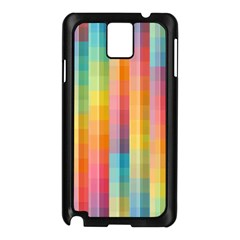 Background Colorful Abstract Samsung Galaxy Note 3 N9005 Case (black)