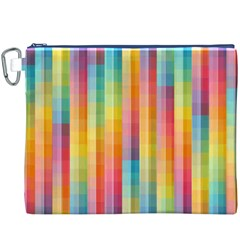 Background Colorful Abstract Canvas Cosmetic Bag (xxxl)