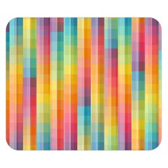 Background Colorful Abstract Double Sided Flano Blanket (small)