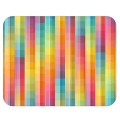 Background Colorful Abstract Double Sided Flano Blanket (Medium)