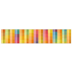 Background Colorful Abstract Flano Scarf (Small)