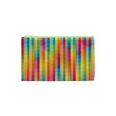 Background Colorful Abstract Cosmetic Bag (XS)