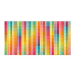 Background Colorful Abstract Satin Wrap