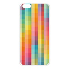 Background Colorful Abstract Apple Seamless iPhone 6 Plus/6S Plus Case (Transparent)