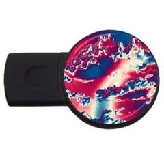 Sky pattern USB Flash Drive Round (2 GB)