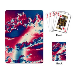 Sky pattern Playing Card