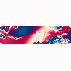 Sky pattern Large Bar Mats