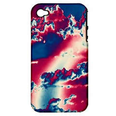 Sky pattern Apple iPhone 4/4S Hardshell Case (PC+Silicone)