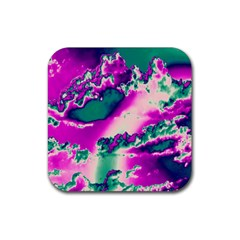 Sky pattern Rubber Square Coaster (4 pack)