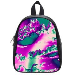 Sky pattern School Bags (Small)