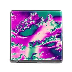 Sky pattern Memory Card Reader (Square)