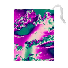 Sky pattern Drawstring Pouches (Extra Large)