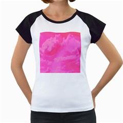 Sky pattern Women s Cap Sleeve T