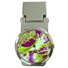 Sky pattern Money Clip Watches