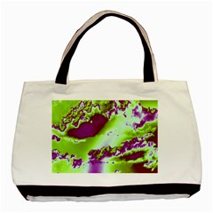 Sky pattern Basic Tote Bag (Two Sides)