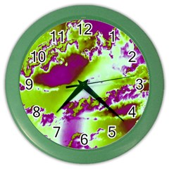 Sky pattern Color Wall Clocks