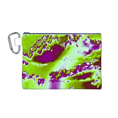 Sky pattern Canvas Cosmetic Bag (M)