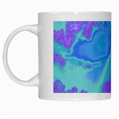 Sky pattern White Mugs