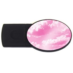 Sky pattern USB Flash Drive Oval (1 GB)