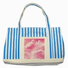 Sky pattern Striped Blue Tote Bag