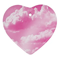 Sky pattern Heart Ornament (Two Sides)