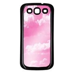 Sky pattern Samsung Galaxy S3 Back Case (Black)