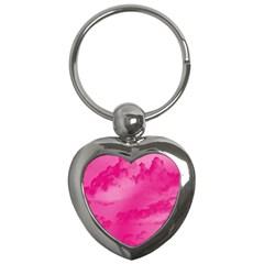 Sky pattern Key Chains (Heart)
