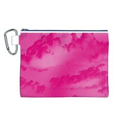 Sky pattern Canvas Cosmetic Bag (L)