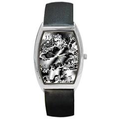 Sky pattern Barrel Style Metal Watch