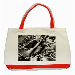 Sky pattern Classic Tote Bag (Red)