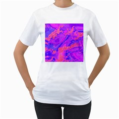 Sky pattern Women s T-Shirt (White)