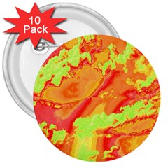 Sky pattern 3  Buttons (10 pack)