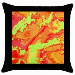 Sky pattern Throw Pillow Case (Black)