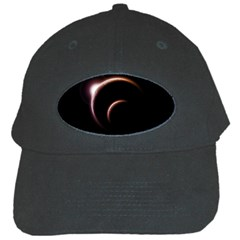 Planet Space Abstract Black Cap