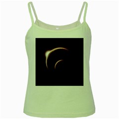Planet Space Abstract Green Spaghetti Tank