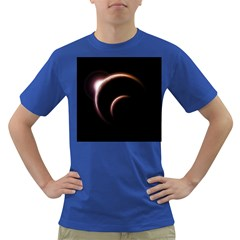 Planet Space Abstract Dark T Shirt
