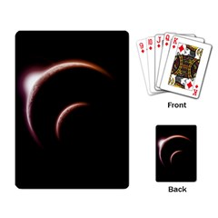 Planet Space Abstract Playing Card