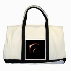 Planet Space Abstract Two Tone Tote Bag