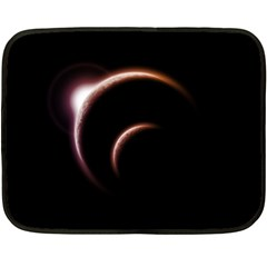 Planet Space Abstract Double Sided Fleece Blanket (Mini)