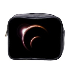 Planet Space Abstract Mini Toiletries Bag 2 Side