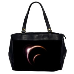 Planet Space Abstract Office Handbags (2 Sides)