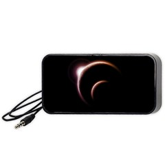 Planet Space Abstract Portable Speaker (Black)