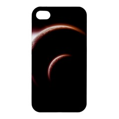 Planet Space Abstract Apple iPhone 4/4S Premium Hardshell Case