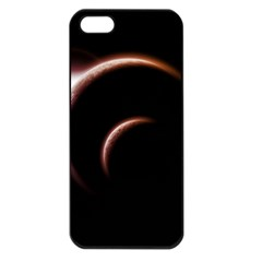 Planet Space Abstract Apple Iphone 5 Seamless Case (black)