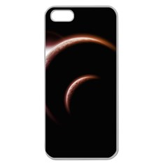 Planet Space Abstract Apple Seamless iPhone 5 Case (Clear)